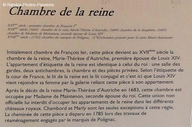 Randos photos passions albums photos for Chambre de la reine